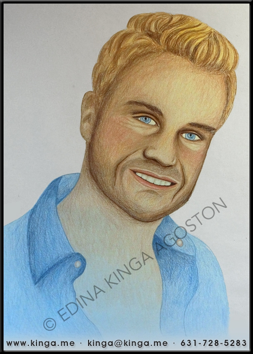 Louis van Amstel by Kinga